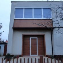 Brána, okná, zabudovanie balkóna
